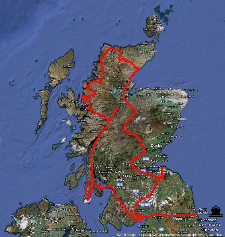 Globetrottel Net Schottland 2010